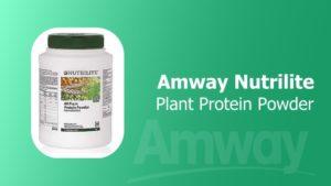 Amway Nutrilite All Plant Protein Powder