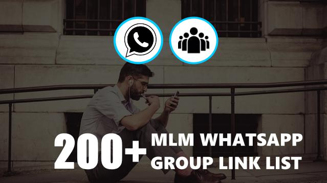 MLM Whatsapp Groop Link List