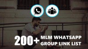 MLM Whatsapp Group Link List