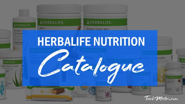 Herbalife Catalog