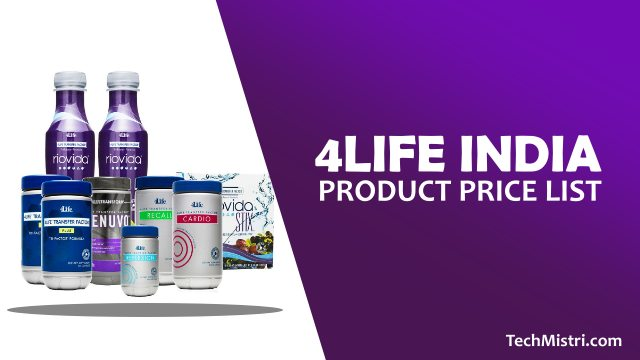 4Life-India-Product-Price-List-