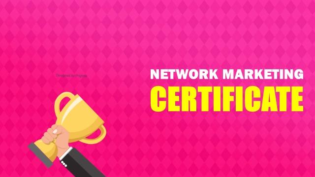 Get-MLM-Certificate-India