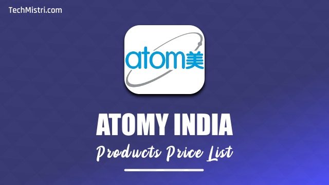 Atomy Products list India