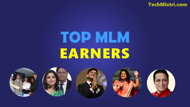Top MLM Earners india