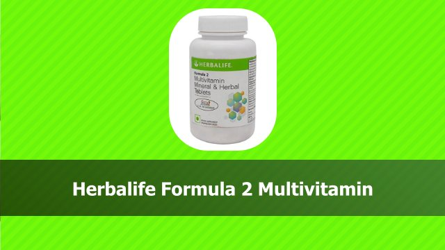 Herbalife Formula 2 Multivitamin in hindi