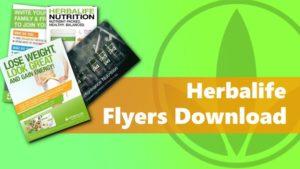 herbalife flyers download