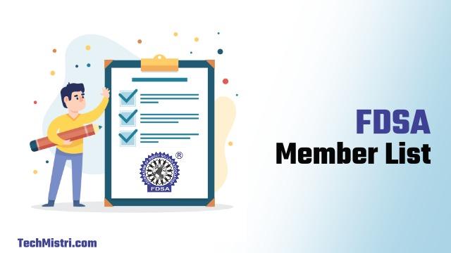 fdsa member list