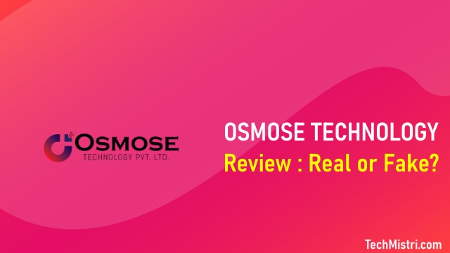 Osmose Technology À¤• À¤¯ À¤¹ Fake Or Real Review In Hindi