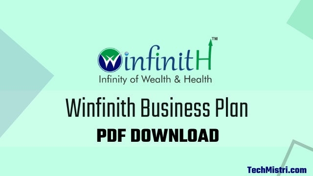 winfinith business plan pdf download
