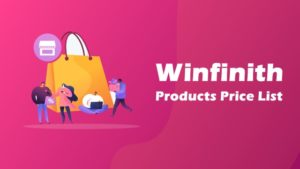 winfinith products price list