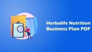 herbalife business plan pdf