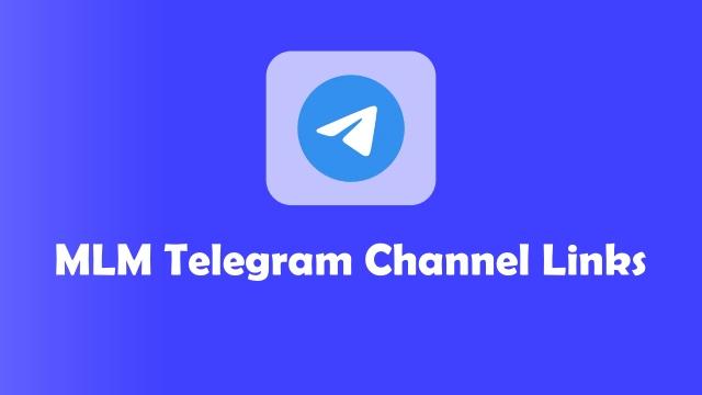 mlm telegram group links